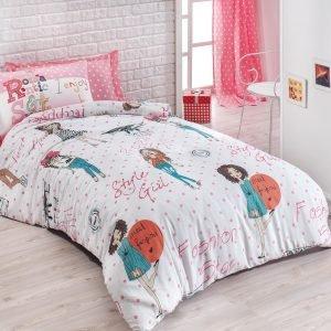 Постельное белье для подростков Eponj Home – Fashion Girl Pembe 160×220