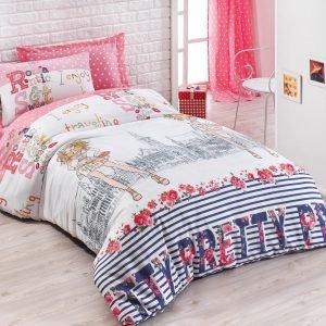 Постельное белье для подростков Eponj Home – Pretty Pembe 160×220