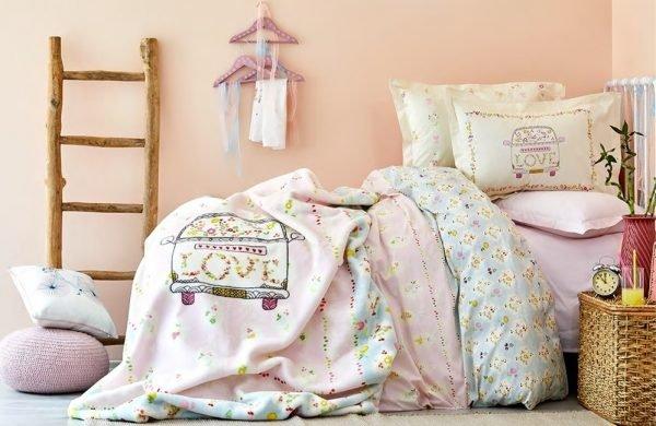 купить Постельное белье для подростков Karaca Home - Litzy 2018-1 (2000022091169)