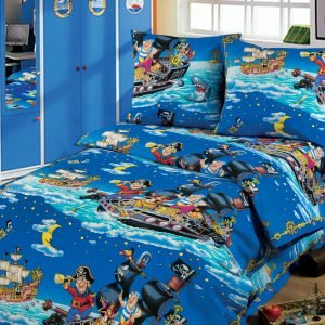 Постельное белье для подростков Kidsdreams 150 – Пираты 145×210