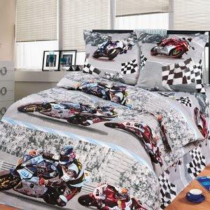 Постельное белье для подростков Kidsdreams 150 – Супербайк 145×210