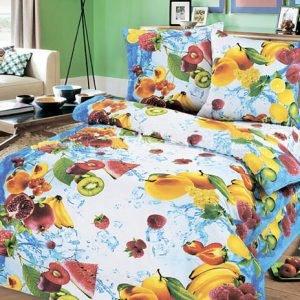 Постельное белье для подростков Kidsdreams 150 – Фруктовый микс 145×210