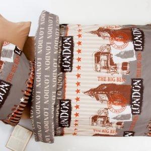 Постельное белье для подростков Lotus Premium B&G – Slang кофе 145×210