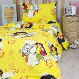 Постельное белье для подростков Lotus Young – Dora жёлтый 145×210