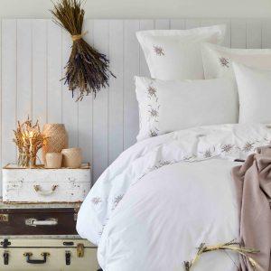 Постельное белье с покрывалом Karaca Home — Lalita lila 2019-1 200×220