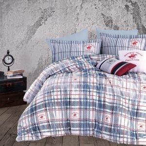 Постельное белье Beverly Hills Polo Club – BHPC 014 Blue 200×220