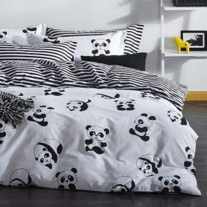 Постельное белье Eponj Home B&W – Panda 200×220