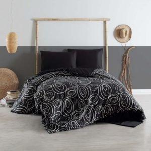 Постельное белье Eponj Home B&W – Ring 200×220