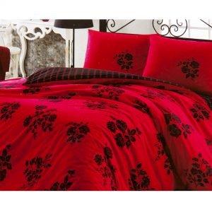 Постельное белье Kristal – Fulya красное 160×220