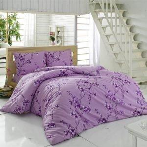 Постельное белье Maxstyle Terry Cotton – Elfida лиловое 160×220