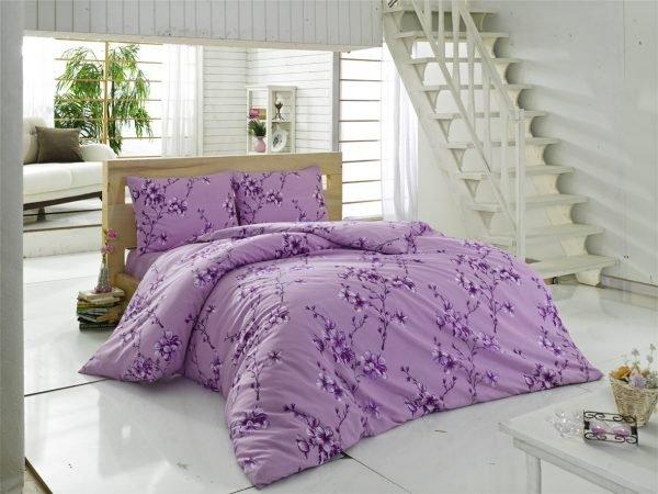 купить Постельное белье Maxstyle Terry Cotton - Elfida лиловое (2225)