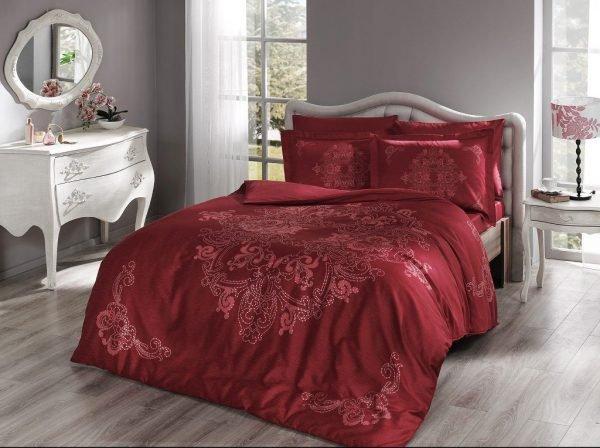 купить Постельное белье Pierre Cardin - Hermes красный (2000022169905)