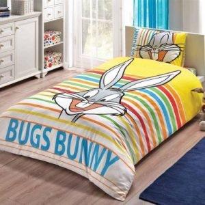 Постельное белье TAC Disney – Bugs Bunny Striped 160×220