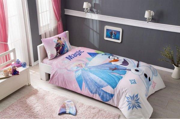 Постельное белье TAC Disney – Frozen Pink 160×220