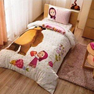 Постельное белье TAC Disney – Masha and the bear super berry 160×220