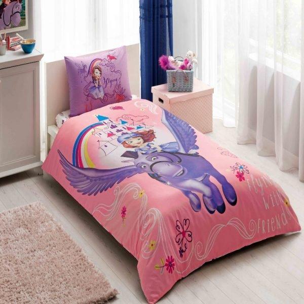 Постельное белье TAC Disney — Sofia & Minimus 160*200 160×220