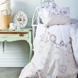 Детский плед в кроватку Karaca Home – Friends 100×120