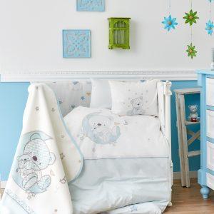 Детский плед в кроватку Karaca Home – Moon 2018-1 100×120