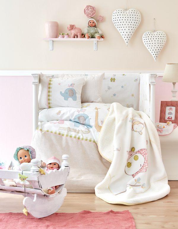 купить Детский плед в кроватку Karaca Home - Playmate 2018-1 (2000022087094)