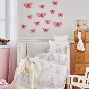 Детский плед в кроватку Karaca Home – Princes 2018-1 100×120