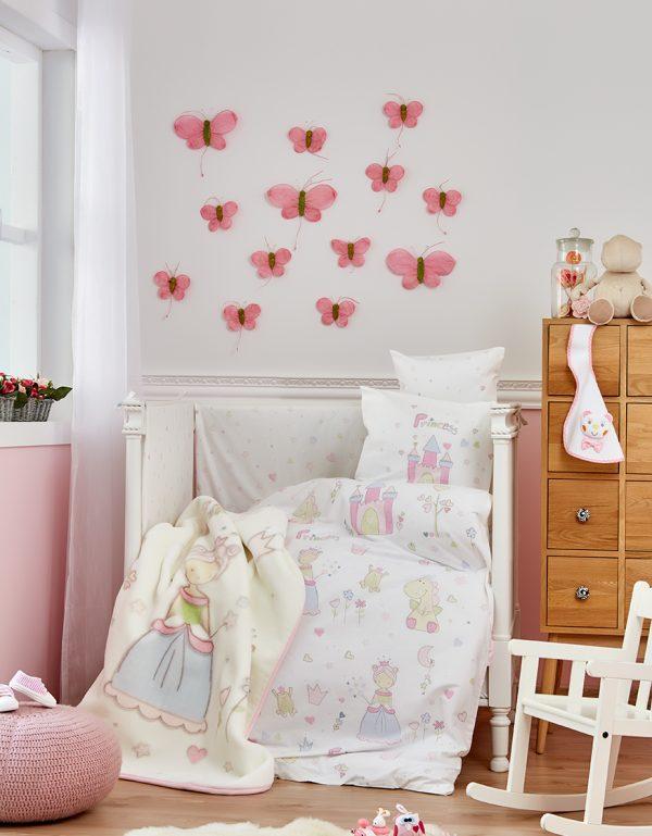купить Детский плед в кроватку Karaca Home - Princes 2018-1 (2000022087117)