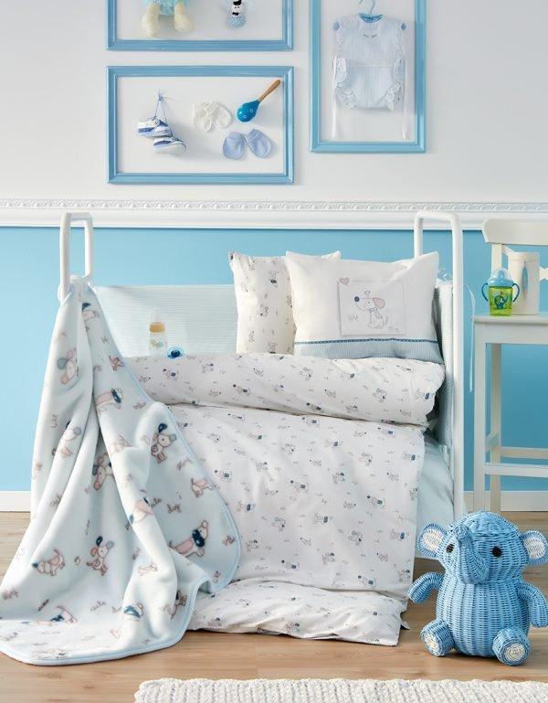 купить Детский плед в кроватку Karaca Home - Woof 2018-1 (2000022087148)