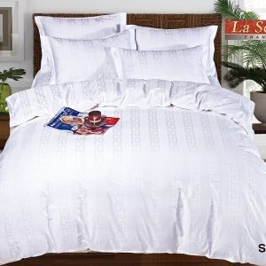Однотонное постельное белье La Scala сатин SJ-01