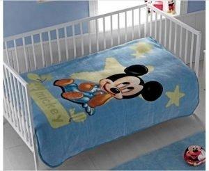 Плед для младенцев Tac Disney – Mickey Baby 100×120