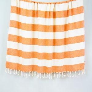 Плед-накидка Barine – Deck Throw Orange 135×160