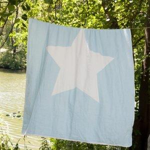 Плед-накидка Barine — North Star Throw Blue 130×170