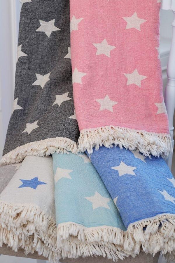 купить Плед-накидка Barine - Stars Throw mavi (227465050)