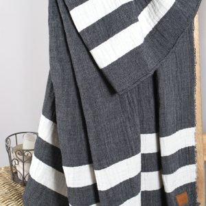 Плед-накидка Barine — Wool Cocoon 135×180