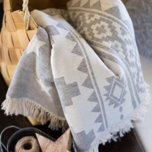 Плед-накидка Barine – Wool Rug Throw 130×170