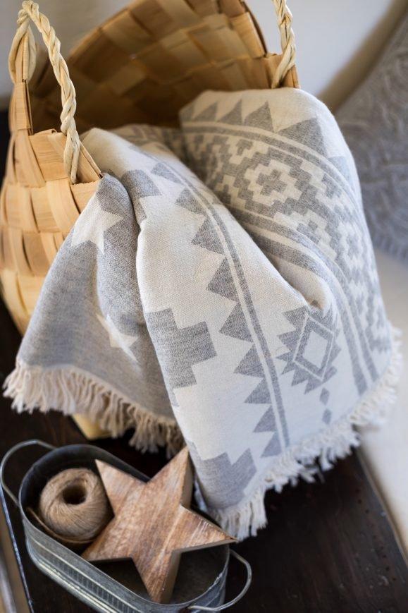 Плед-накидка Barine – Wool Rug Throw 130×170