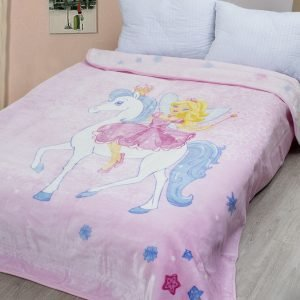 купить Плед - покрывало Karaca Home - Periwinkle 2018-2 pembe (2000008482363)