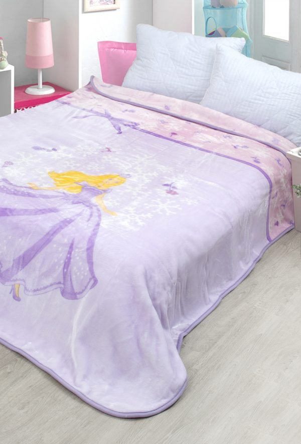 Плед – покрывало Karaca Home – Selkie 2018-2 lila 160×220