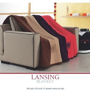 Плед хлопковый U.S.Polo Assn – Lansing 200×220