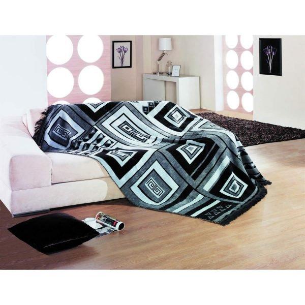купить Плед Lotus - Black&White (sv-2000008473675-v)