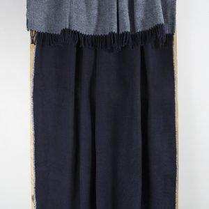 Плед Lotus Mono — Basic синий 135×175