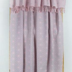 Плед Lotus Mono — Like розовый 135×175