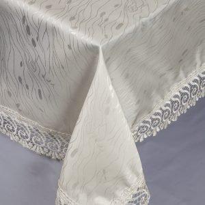 Скатерть жаккардовая – Isadora (Zerya) Z01 крем 160×220