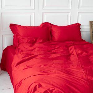 Однотонное постельное белье La Scala сатин S-26