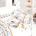 Какое нужно постельное белье в кроватку и манеж?