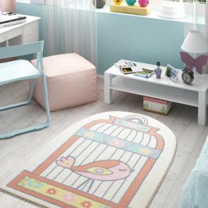 купить Ковер в детскую комнату Confetti - Happy Cage 01 salmon оранжевый (sv-2000008481649)