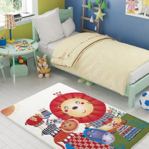 купить Ковер в детскую комнату Confetti - Lion King оранжевый (sv-2000008481557)