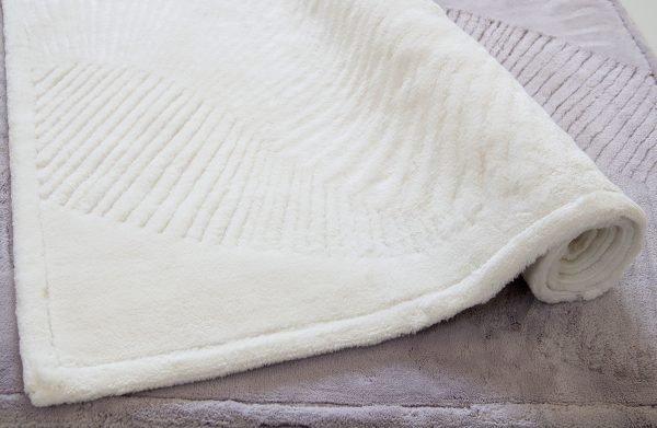 Коврик бамбук Karaca Home — Trend молочный 70×120