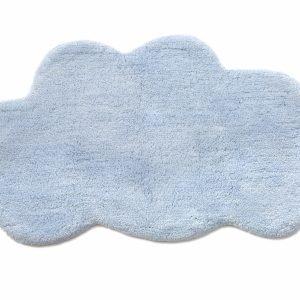 Коврик в детскую комнату Irya – Cloud mavi голубой 50×80