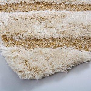 Коврик для ванной Confetti – Karya kemik бежевый 60×100