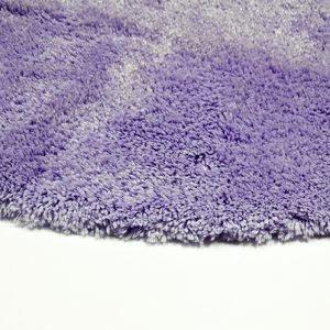 Коврик для ванной Confetti — Miami lila сиреневый 100 см. диаметр