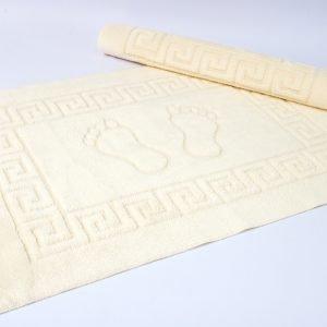 Коврик для ванной Lotus — молочный 50×70